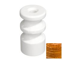 Двойной кабельный изолятор, Art-Giallo, GE70225-43 (KM) ТМ МезонинЪ