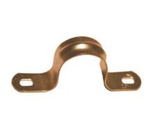 Крепеж для труб двухсторонний D18 медь, RMFF-18M Retrika