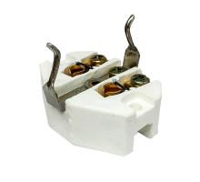 Механизм ретро розетки с заземляющим контактом, керамика, GE70501 ТМ МезонинЪ