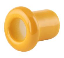 Втулка (проход) керамическая золотистая охра 130-ЗО (KM) Lindas