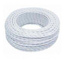 Витой провод электрический 2*1.5 белый B1-424-71 BIRONI